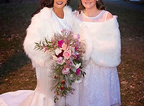 Cascading Great Gatsby Wedding Bouquet