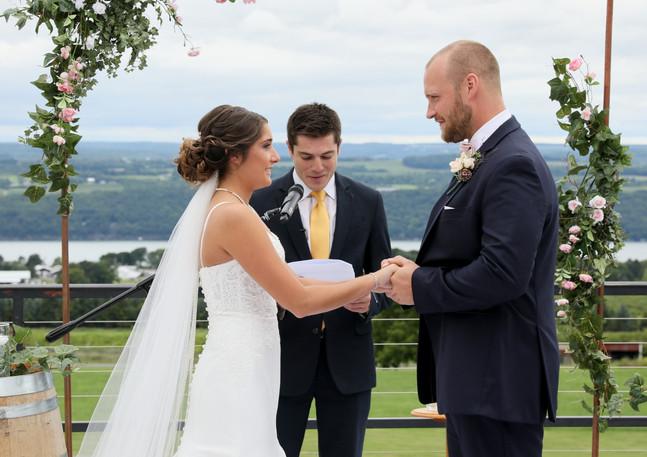 Copper Wedding Arbor - Arch