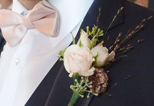 WEDDING BOUTONNIERE BUTTONHOLE