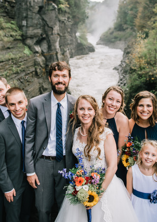 Letchworth State Park Wedding Party