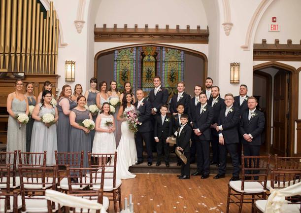 Great Gatsby Wedding Party