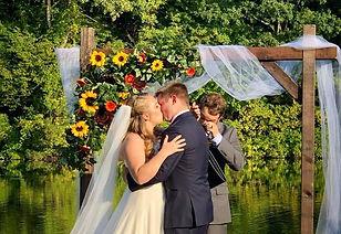 SUNFLOWER WEDDING ARBOR ARCH