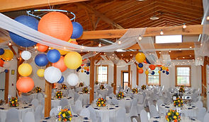 BLUE ORANGE YELLOW RECEPTION