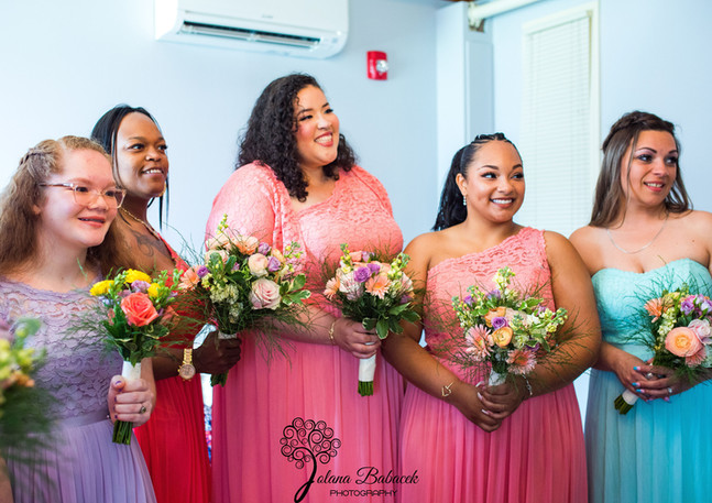 CORAL BLUSH LAVENDER RANUNCULUS GERBERA DAISY WEDDING FLOWERS
