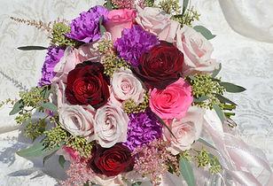Jewel Tone Wedding Flowers