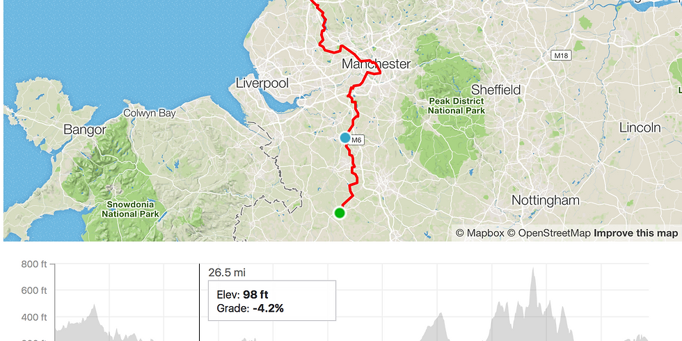 Breathe for Life Manchester Challenge ride