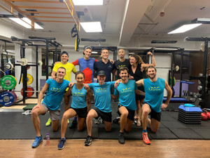 Full body training with the Uglow running team