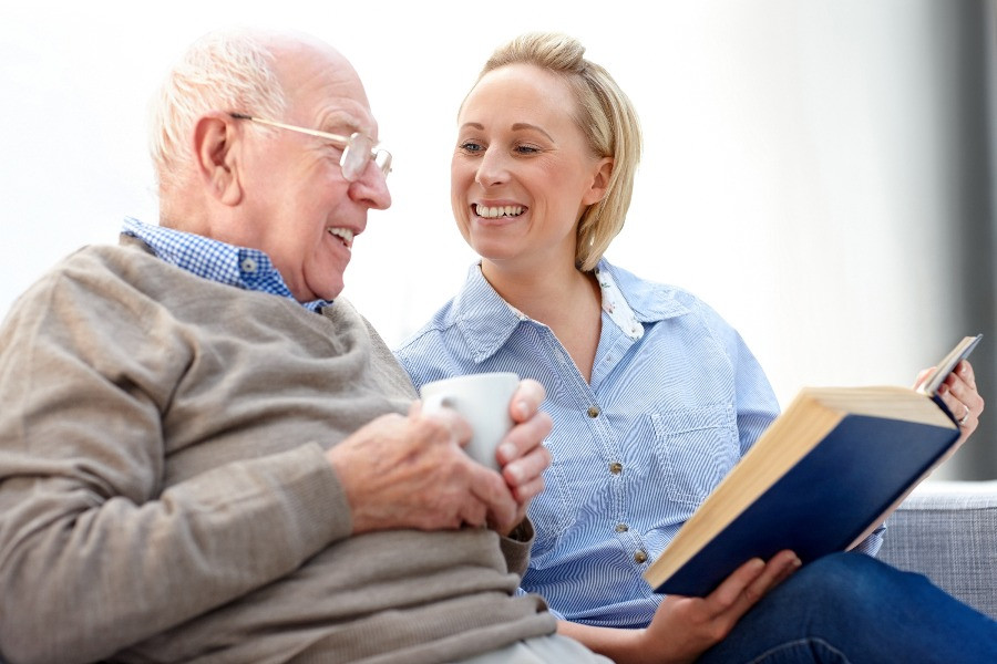 Home share compaion with elderly home owner