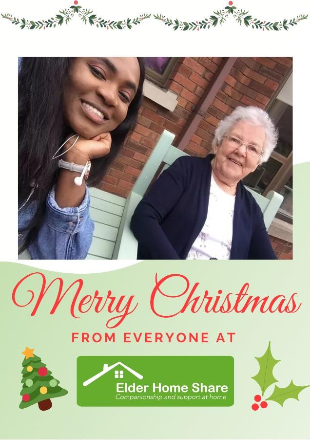 Merry Christmas Elder Home Share