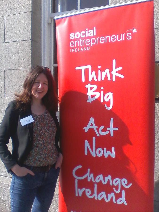 Saiorse Sheridan at Social Entrepreneurs Ireland