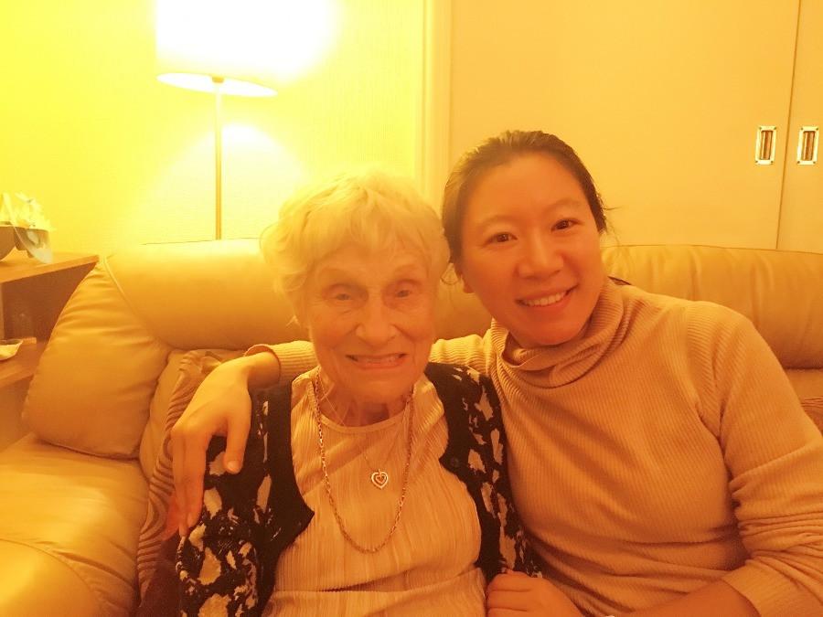 Mary and Lucy Liu