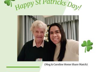 St Patrics Day at Elder Home Share