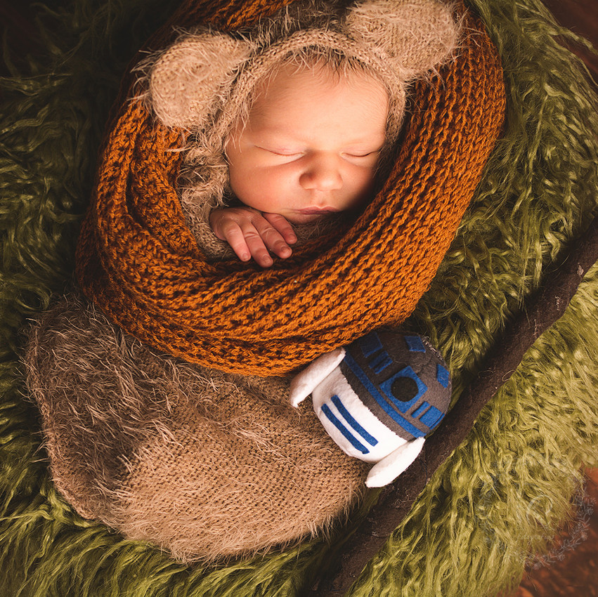 newborn ewok costume star wars