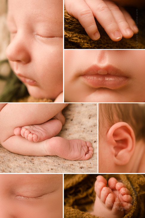 Fotos de  bebê detalhes