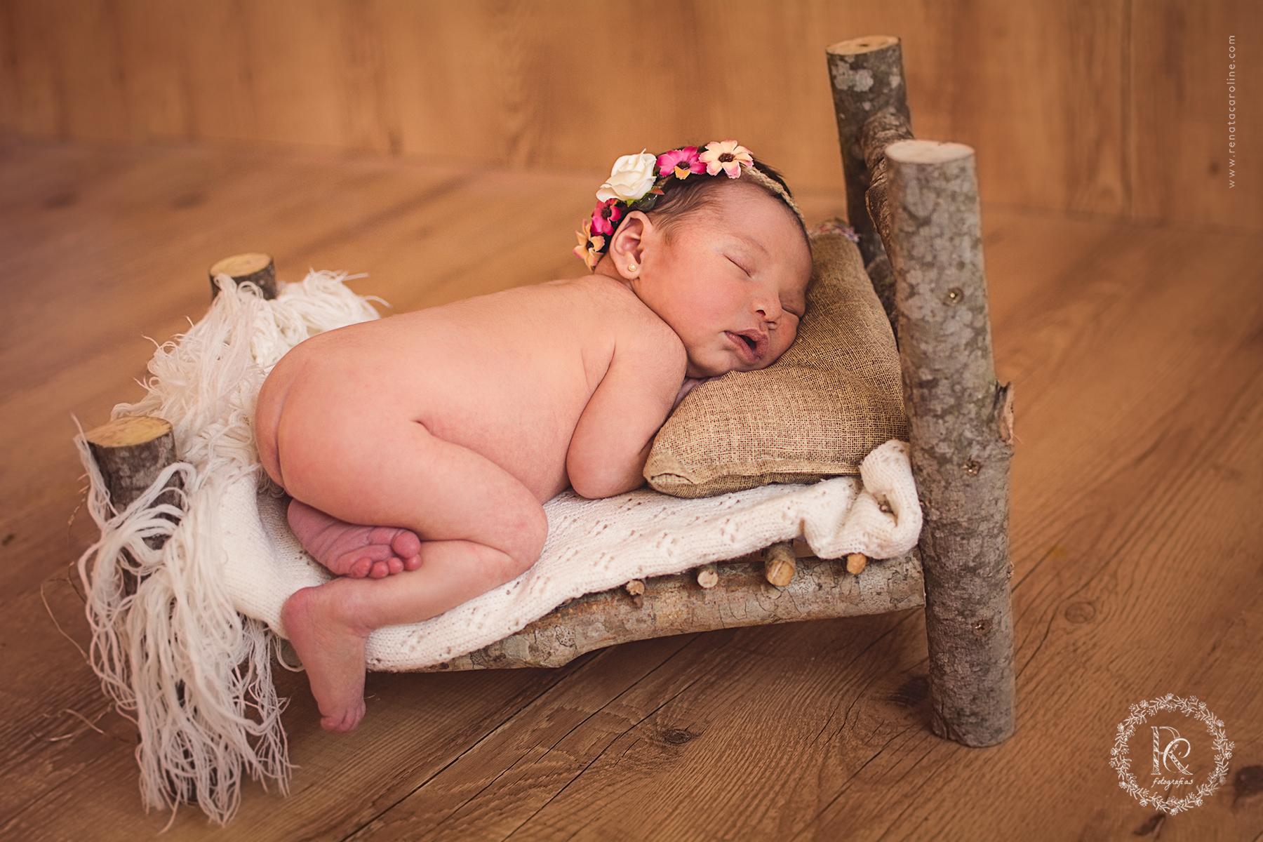 Book de Bebê Recém Nascido em Santa Felicidade