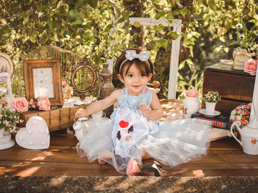 Ensaio Externo - Alice no Pais das Maravilhas