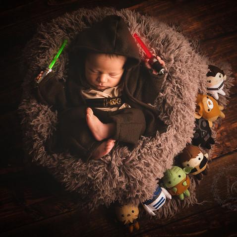 Newborn Temático - Star Wars
