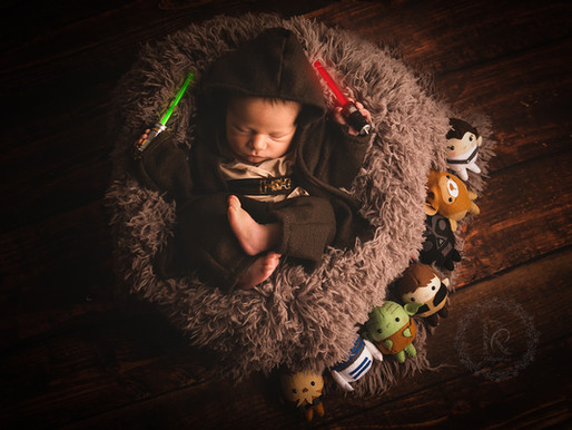 Newborn Temático - Star Wars