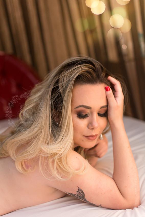 ensaio feminino boudoir