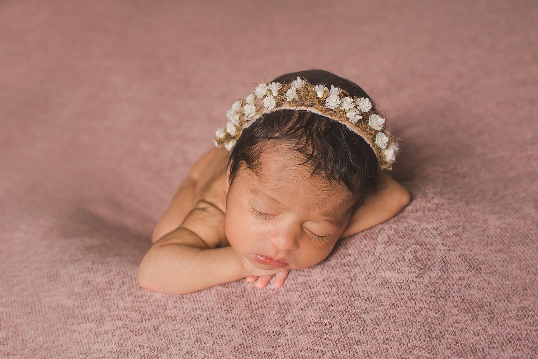 book newborn de menina em curitiba