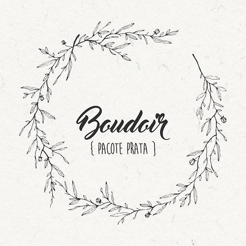 Ensaio Boudoir - PACOTE PRATA