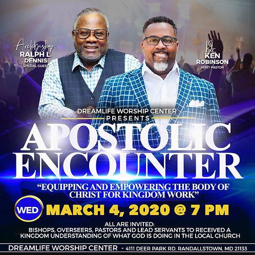 Apostolic Encounter: Night 3