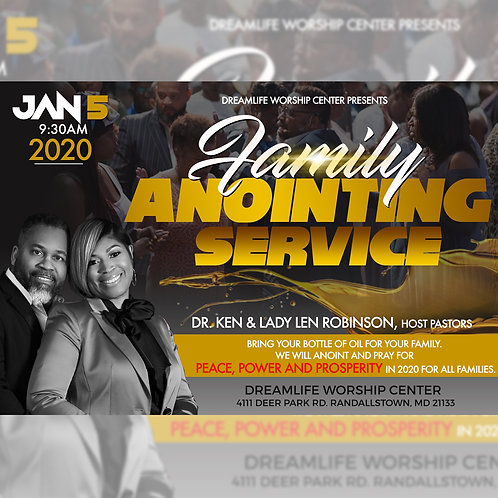 Family Anointing Service