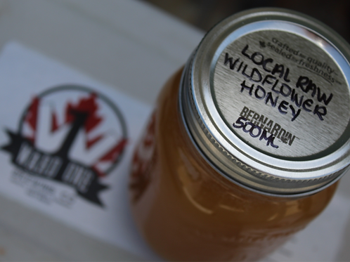 Local Raw Wildflower Honey