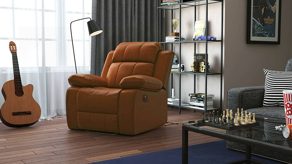 Robert Motorized Recliner 6 Seater