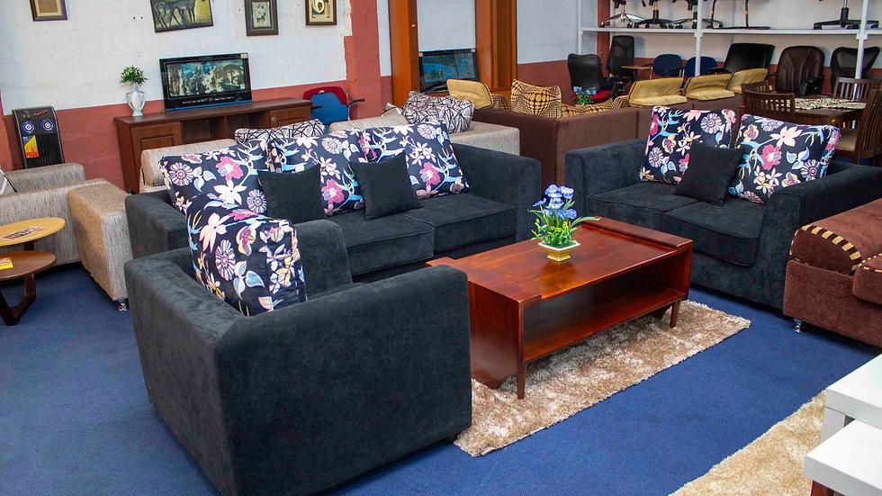 Floral Fabric Sofa