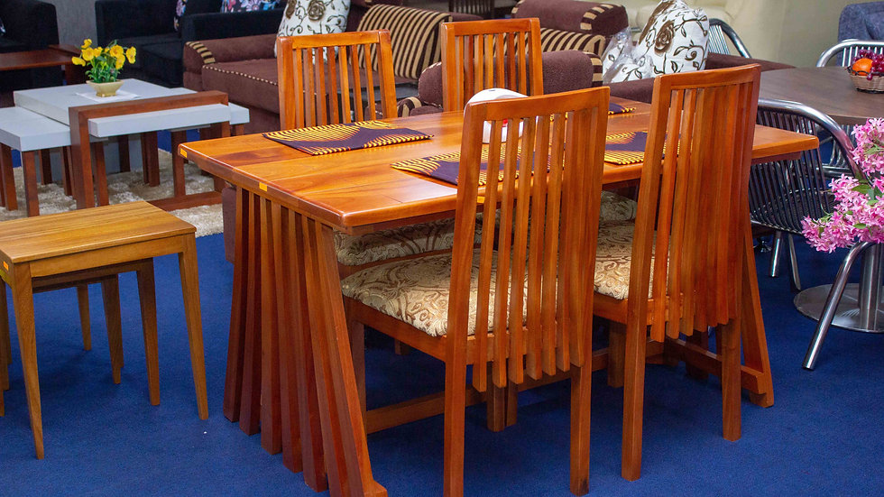Footsteps Real Mahogany Dining Set (solid wood)