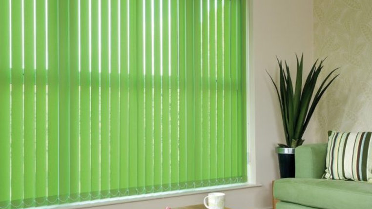 Vertical Blinds Green #5300