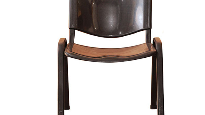 Fiber Stakable Visitor Chair