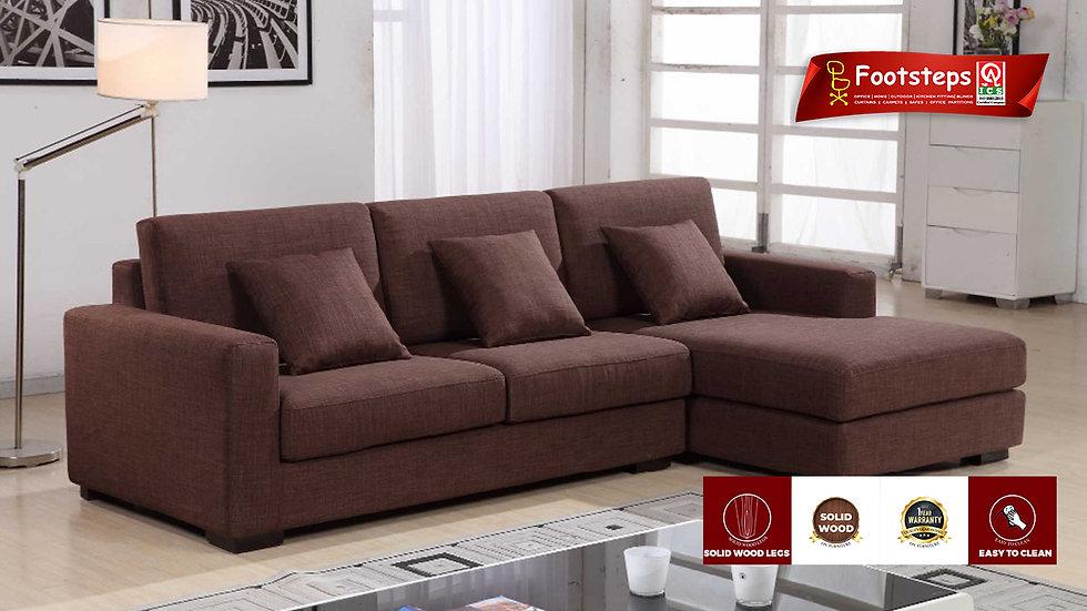 New Design brown color fabric sofa