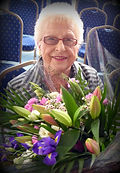 Ltvas Joy Knowles Honorary Member 2015 photo Roy Romsey