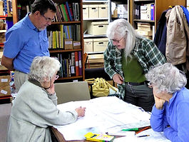 RLHS Anglo Saxon Project meeting. Photo:- Roy Romsey