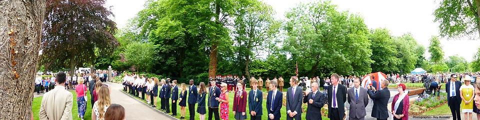 Romsey War Horse Memorial unveiling Princess Royal