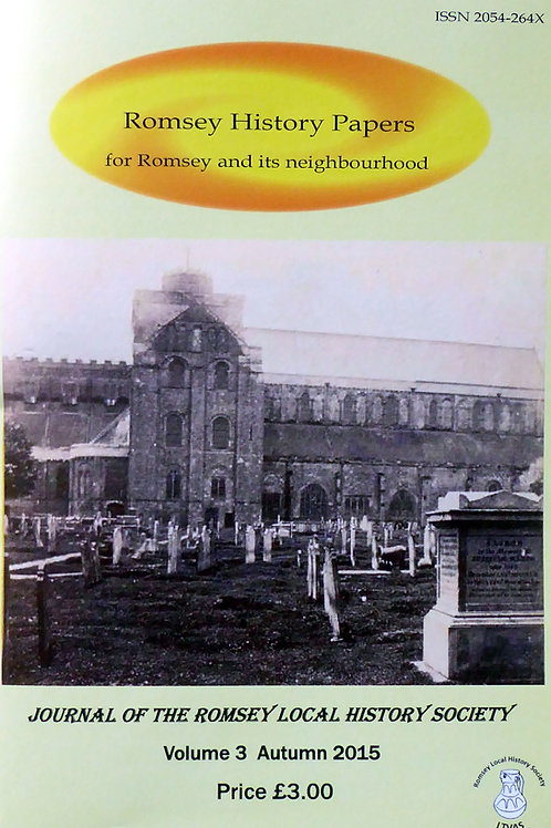 Romsey History Papers - Vol. 3 Nov 2015