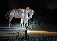 Romsey War Horse Memorial Statue WW1