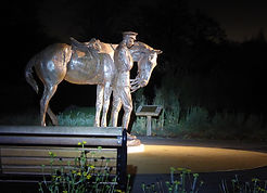 Romsey War Horse Memorial Statue WW1