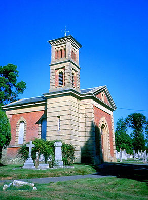 Non-conformist Italianate Chapel, Romsey Cemetery