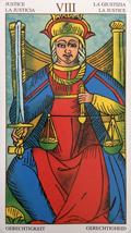 マルセイユタロット(正義)