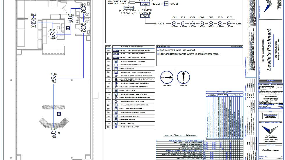 Lvl 1 Fire Alarm Design Package