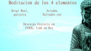 Meditación de los 4 elementos (Sergi Boal(Guitarra)+Ariadna Salvador ( Voz)