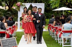 Bridal party on carpert at ceremony setup.JPG