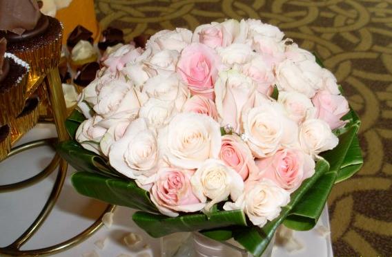 soft ros bouquet