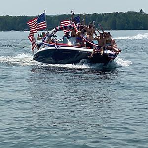 GLADLA 2021 July 4th Boat Parade