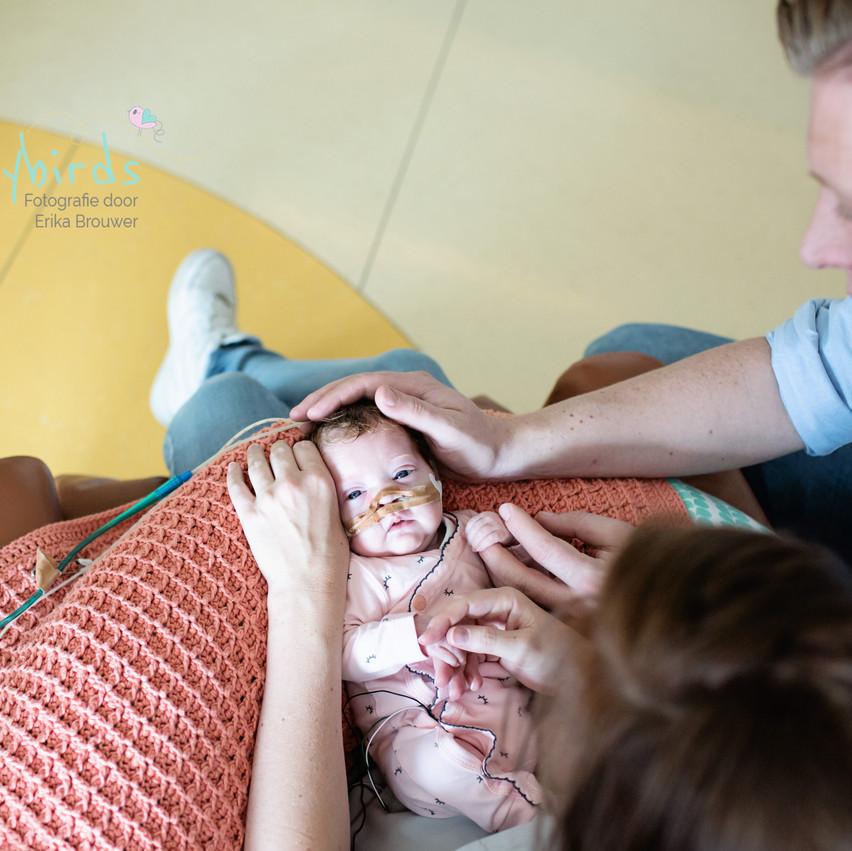 baby met ouders