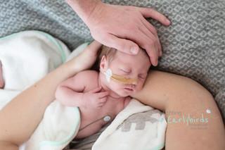 Baby fotosessie voor Stichting Earlybirds