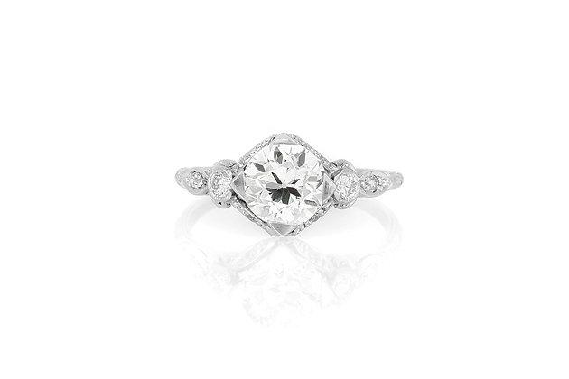 1.45 Carat Art Deco Engagement Ring